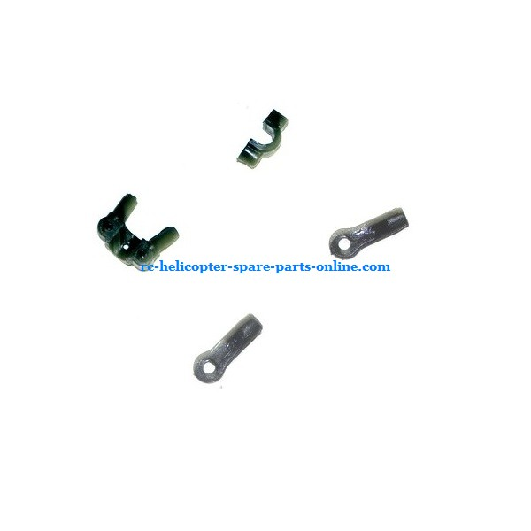SH 6026 6026-1 6026i RC helicopter spare parts fixed set of the tail decorative set and support bar