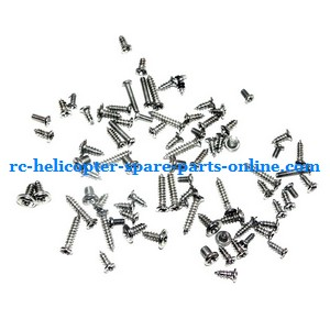 SH 8827 8827-1 RC helicopter spare parts screws set