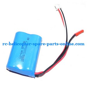 SH 8827 8827-1 RC helicopter spare parts battery 7.4V 1100MAH JST plug
