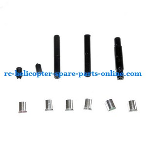 SH 8827 8827-1 RC helicopter spare parts supported aluminum ring and plastice bar set