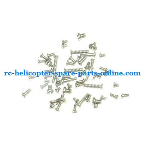 SH 8828 8828-1 8828L RC helicopter spare parts screws set