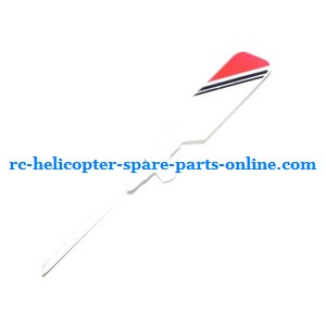 SH 8828 8828-1 8828L RC helicopter spare parts tail blade (Red)