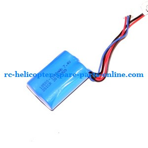 SH 8828 8828-1 8828L RC helicopter spare parts battery 7.4V 1100MAH JST plug