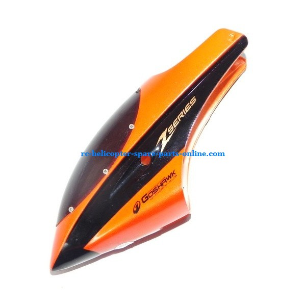 SH 8829 helicopter spare parts head cover (Orange)