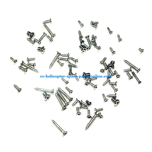 SH 8830 helicopter spare parts screws set