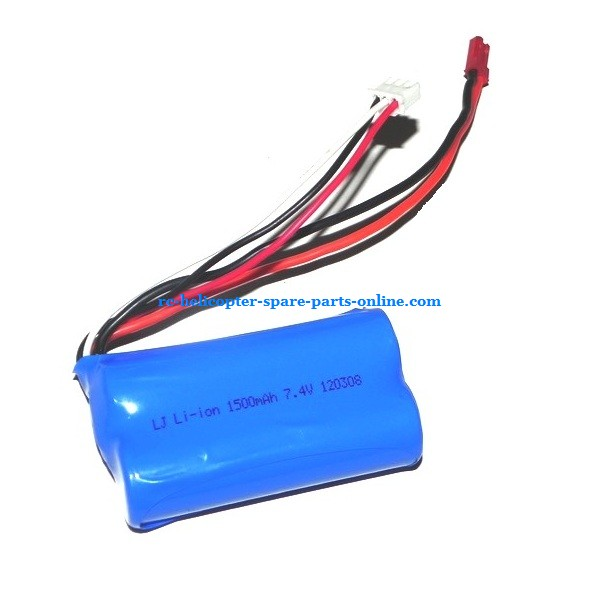 SH 8830 helicopter spare parts battery 7.4V 1500Mah JST plug