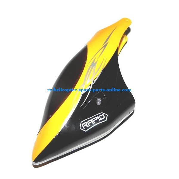 SH 8830 helicopter spare parts head cover (Yellow)