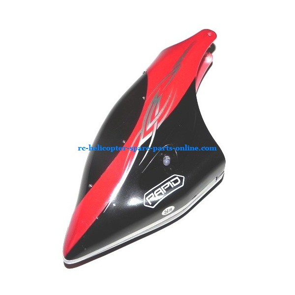 SH 8830 helicopter spare parts head cover (Red)