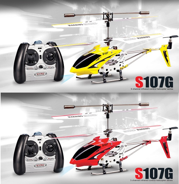 SYMA S107G 3.5 CH mini helicopter # Free Shipping