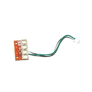 MJX T04 T604 RC helicopter spare parts wire plug board