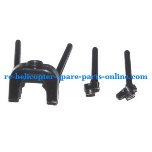 MJX T05 T605 RC helicopter spare parts fixed set of the support bar