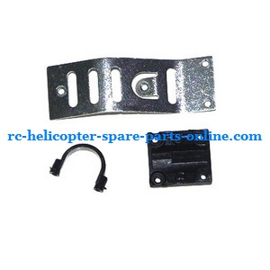 MJX T05 T605 RC helicopter spare parts tail tube fixed and metal board etc.