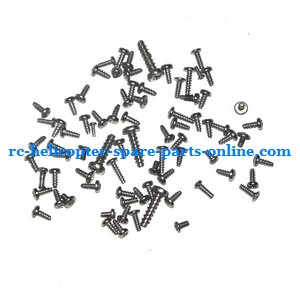 MJX T10 T11 T610 T611 RC helicopter spare parts screws set