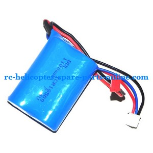 MJX T10 T11 T610 T611 RC helicopter spare parts battery 7.4V 1100mAh JST plug