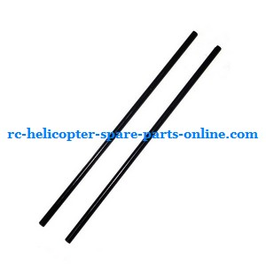 MJX T10 T11 T610 T611 RC helicopter spare parts tail support bar (Black)