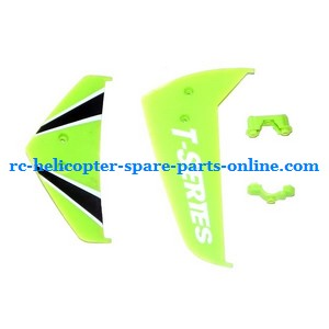 MJX T10 T11 T610 T611 RC helicopter spare parts tail decorative set (Green)