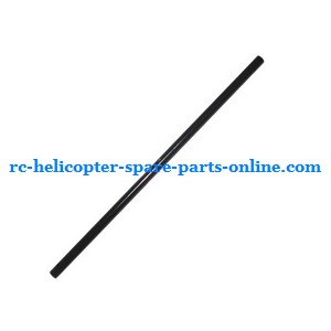 MJX T10 T11 T610 T611 RC helicopter spare parts tail big pipe (Black)