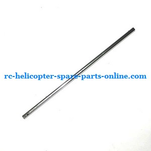 MJX T10 T11 T610 T611 RC helicopter spare parts tail big pipe (Silver)