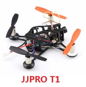 DIY JJPRO T1 quadcopter body without transmitter BNF