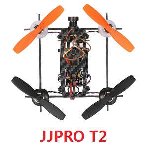 DIY JJPRO T2 quadcopter body without transmitter BNF