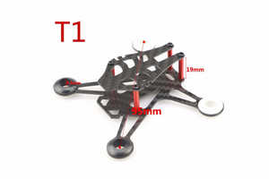 JJRC JJPRO T1 T2 RC quadcopter spare parts main frame (T1)