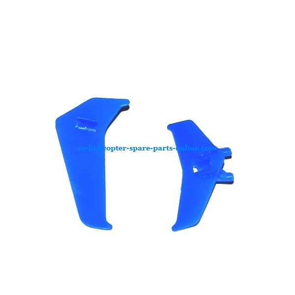 MJX T20 T620 RC helicopter spare parts tail decorative set (Blue)