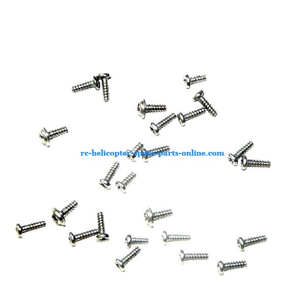 MJX T20 T620 RC helicopter spare parts screws set