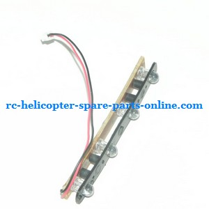MJX T23 T623 RC helicopter spare parts side LED bar