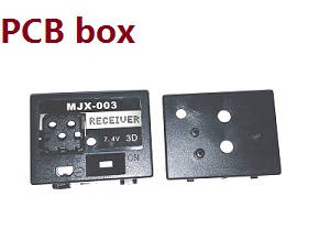 MJX T23 T623 RC helicopter spare parts PCB box