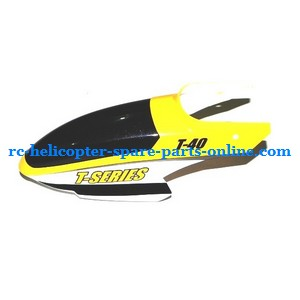 MJX T40 T640 T40C T640C RC helicopter spare parts head cover yellow