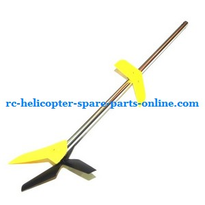 MJX T40 T640 T40C T640C RC helicopter spare parts tail set yellow color