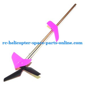 MJX T40 T640 T40C T640C RC helicopter spare parts tail set pink color