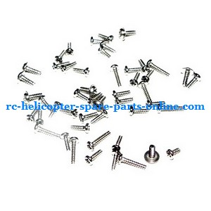 MJX T54 T654 RC helicopter spare parts screws set