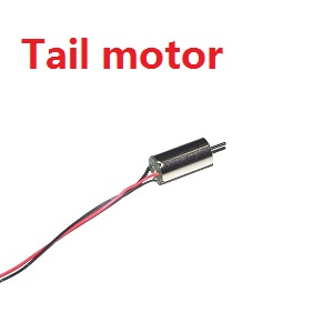 MJX T54 T654 RC helicopter spare parts tail motor