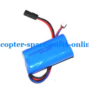 MJX T55 T655 RC helicopter spare parts battery 7.4V 1500MaH Black V1 plug