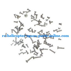 MJX T55 T655 RC helicopter spare parts screws set