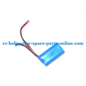 MJX T55 T655 RC helicopter spare parts battery 7.4V 1500MaH JST plug
