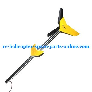 MJX T55 T655 RC helicopter spare parts tail set (Yellow)