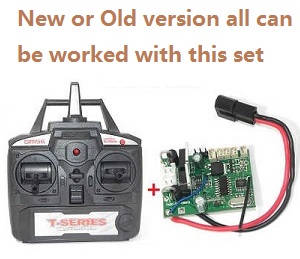MJX T55 T655 RC helicopter spare parts transmitter + PCB baord (New and Old version all can use this set)