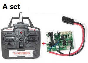 MJX T55 T655 RC helicopter spare parts transmitter + PCB baord