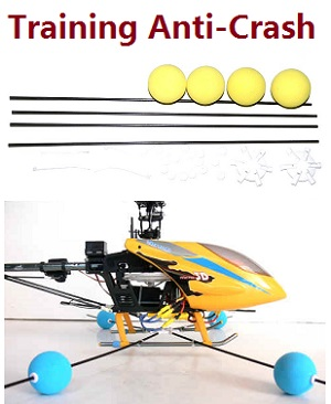 Helicopter landing Training anti-crash kit
