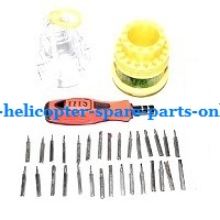 1*31-in-one Screwdriver kit package