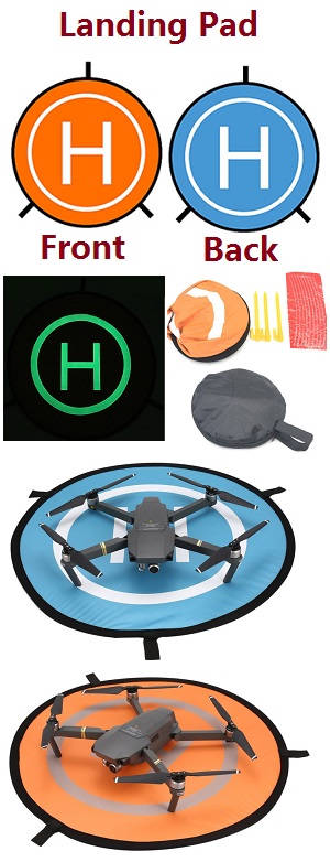 Universal Fast-fold Landing Pad Drone And Helicopter Parking Apron Foldable Pad