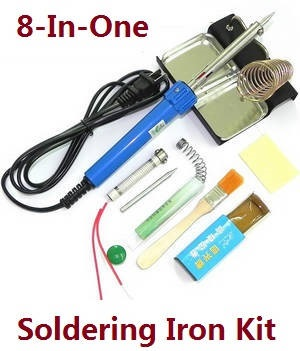8-In-1 Voltage 110-120V 60W soldering iron set