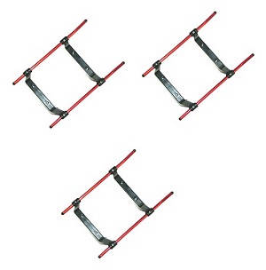 UDI U12 U12A helicopter spare parts undercarriage 3pcs