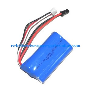 UDI U12 U12A helicopter spare parts battery 7.4V 1500MAH SM plug