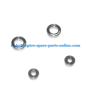 UDI U12 U12A helicopter spare parts 2x big bearing + 2x small bearing (set)