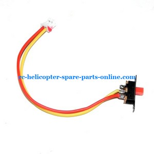 UDI U12 U12A helicopter spare parts on/off switch wire