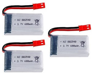 UDI U13 U13A helicopter spare parts battery 3.7V 580Mah red JST plug