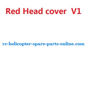 UDI U23 helicopter spare parts head cover (Red V1)